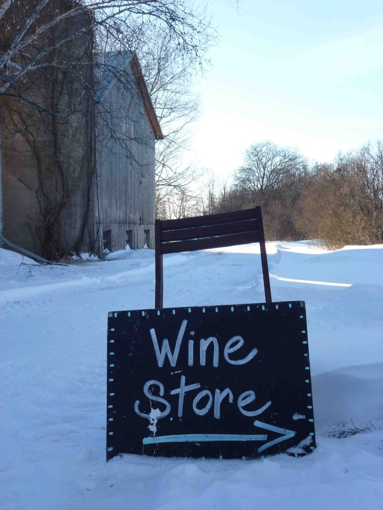 winter wine prince edward county