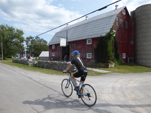 cycling prince edward county karlo estates