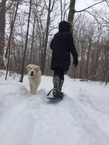 family fun county snowshoe winter pet-friendly