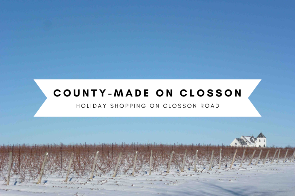 County-Made on Closson - Holiday shopping on Closson Road